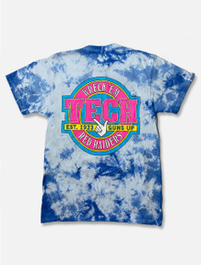 "Texas Tech Red Raiders ""Drop in"" TIE DYE Short Sleeve T-shirt"