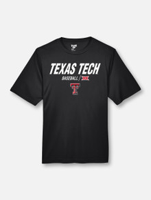 """Texas Tech Red Raiders Double T """"Centerfield"""" Baseball YOUTH T-Shirt"""