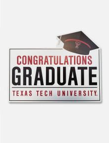 "Texas Tech Red Raiders ""Congratulations Graduate"" Lawn Sign"