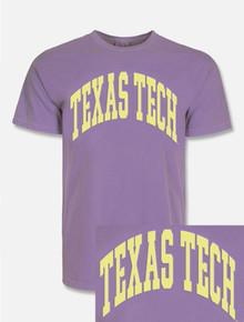 "Texas Tech Red Raiders ""Gnarly Arch"" Puff Print T-Shirt"