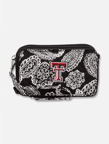 Vera Bradley Texas Tech Red Raiders All-In-One Paisley Crossbody Wallet