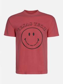"Texas Tech Red Raiders ""Smiley Face"" Puff Print T-Shirt"