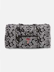 Vera Bradley Texas Tech Red Raiders Large Paisley Duffle Bag