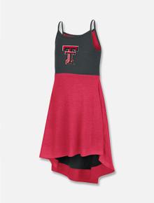 """Arena Texas Tech Red Raiders """"Wonkawash"""" TODDLER Reversible Dress"""