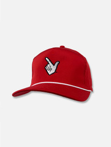"""Imperial Texas Tech Red Raiders """"The Harris"""" Red Snapback Cap"""