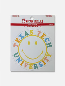 Texas Tech Red Raiders Happy Life Decal