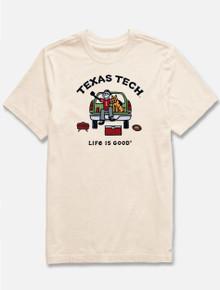 "Texas Tech Red Raiders Life is Good ""Football Tailgate"" T-Shirt"