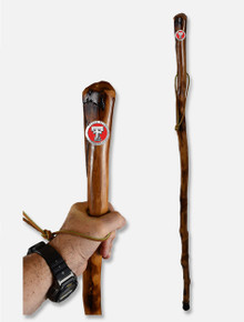 Texas Tech Red Raiders Walking Stick with Metal Double T Concho