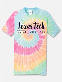 "Texas Tech Red Raiders ""One Script"" Tie Dye T-Shirt"