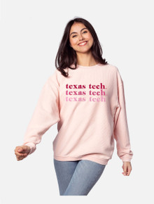 """Texas Tech Red Raiders """"On Repeat"""" Corded Crew"""