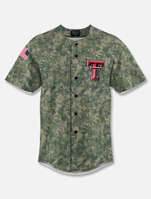 "Texas Tech Red Raiders ""Military Appreciation"" Baseball Jersey"