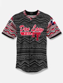 "Texas Tech Red Raiders ""Tadlock Tribute"" Saddle Blanket Baseball Jersey"