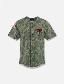 "Texas Tech Red Raiders YOUTH ""Military Appreciation"" Baseball Jersey"