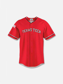 Texas Tech Red Raiders YOUTH Arch Replica Baseball Jersey