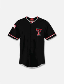 Texas Tech Red Raiders YOUTH Double T Replica Baseball Jersey