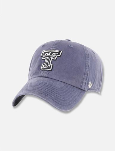 "47 Brand Texas Tech ""Portal Hudson"" Black and White Double T Adjustable Cap"