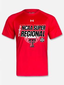 Under Armour Texas Tech Red Raiders Baseball 2021 Super Regional T-Shirt