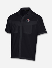 """Under Armour Texas Tech Red Raiders """"Around The Horn"""" Tide Chaser Button Down Black"""