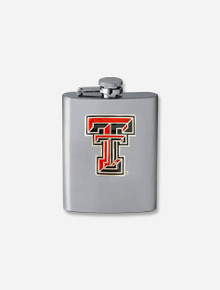 Texas Tech Red Raiders Double T Emblem 4oz Flask