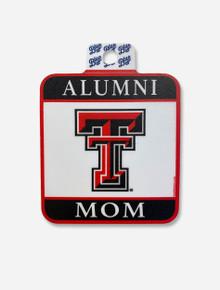 Texas Tech Red Raiders Square Alumni Mom Decal