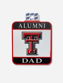 Texas Tech Red Raiders Square Alumni Dad Decal