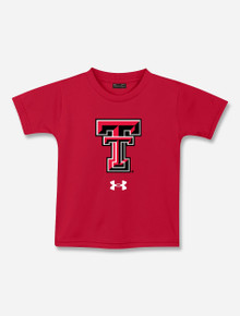 """TODDLER Under Armour Texas Tech Red Raiders """"Double T"""" Tech Tee"""