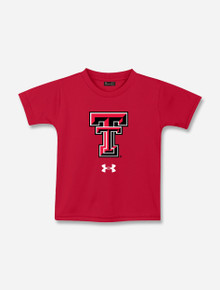 """INFANT Under Armour Texas Tech Red Raiders """"Double T"""" Tech Tee"""