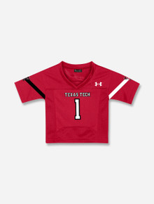 INFANT Under Armour Texas Tech Red Raiders #1 Football Jersey