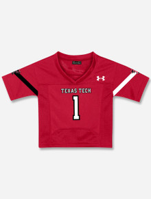 TODDLER Under Armour Texas Tech Red Raiders #1 Football Jersey