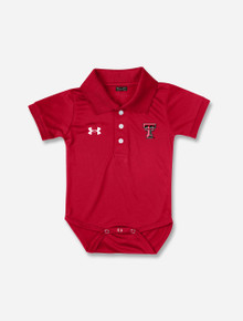 INFANT Under Armour Texas Tech Red Raiders Polo
