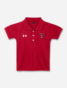 TODDLER Under Armour Texas Tech Red Raiders Polo