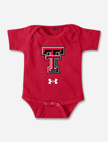 """INFANT Under Armour Texas Tech Red Raiders """"Double T"""" Onesie"""