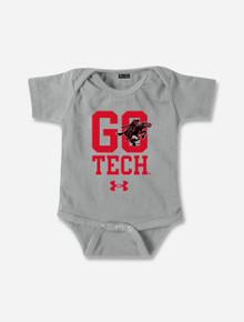 "INFANT Under Armour Texas Tech Red Raiders ""Go Tech"" Onesie"