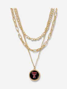 """Texas Tech Red Raiders """"Sydney"""" Necklace"""