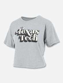 "Press Box Texas Tech Red Raiders ""Easy Rider"" Crop Top"