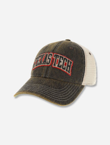 Texas Tech Red Raiders Distressed Arch Snapback Cap