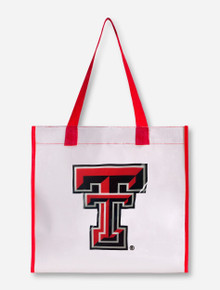 Texas Tech Red Raiders Double T Stadium Approved Clear Tote Bag