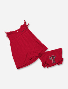 """Arena Texas Tech Red Raiders """"Wonka"""" Infant Tank and Bloomers Set"""