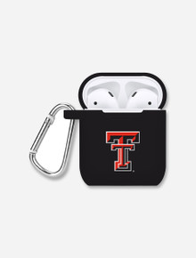 Texas Tech Red Raiders Double T Silicone Airpod Pro & Regular Case Cover