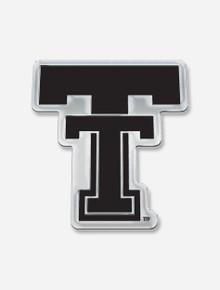 "Texas Tech Red Raiders ""Throwback Vault Double T"" Car Emblem"