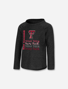 "Arena Texas Tech Red Raiders ""Heart"" TODDLER Girls Long Sleeve T-Shirt"