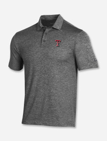"""Texas Tech Red Raiders Under Armour """"Endzone"""" Playoff 2.0 Heather Polo"""