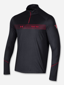 """Texas Tech Red Raiders Under Armour Sideline 2021 Rush """"Road Game"""" Lightweight Quarter Zip"""