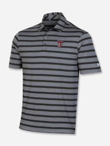 "Texas Tech Red Raiders Under Armour ""Back 9"" Stripe Polo"