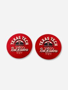 "Texas Tech Red Raiders ""Free Throw"" Car Coasters"