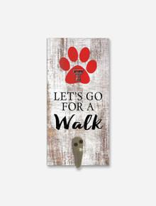 Texas Tech Red Raiders Dog Leash Holder
