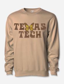 "Texas Tech Red Raiders ""Butterfly Kisses"" Crewneck Sweatshirt"