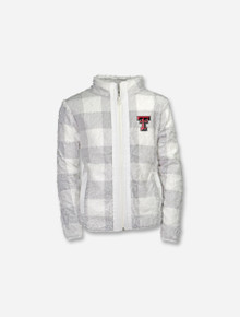 "Garb Texas Tech Red Raiders ""Stella"" INFANT Full Zip Sherpa Jacket"