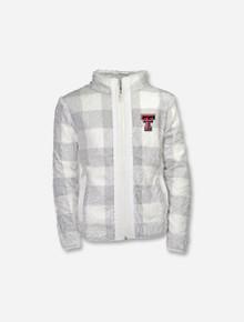 "Garb Texas Tech Red Raiders ""Stella"" TODDLER Full Zip Sherpa Jacket"