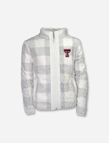 "Garb Texas Tech Red Raiders ""Stella"" YOUTH Full Zip Sherpa Jacket"